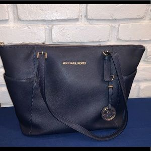 Michael Kors Navy Blue Purse!